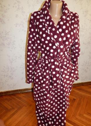 Matalan халат плюшевый мягкий тёплый р12-14 новый