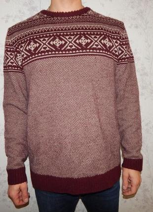 Next свитер мужской стильный модный рxl