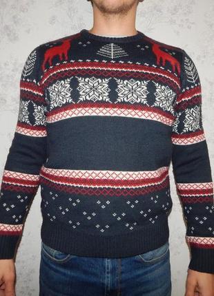 Star clothing свитер мужской новогодний рs