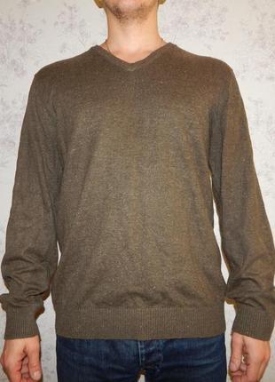 Next свитер мужской с налокотниками стильный модный рl