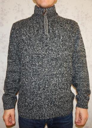 Tu свитер с горлом мужской тёплый стильный модный рxl новый