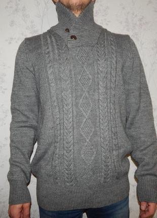 Burton свитер мужской под горло тёплый стильный модный рxl