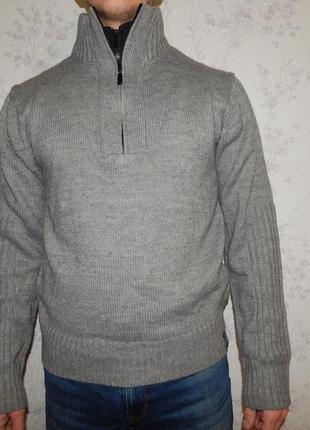 Kensington свитер мужской под горло стильный модный рм