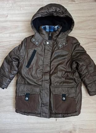 Куртка демисезонная теплая на мальчика