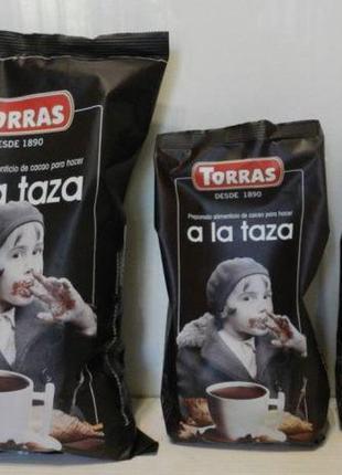 Горячий шоколад Torras a la Taza, без сахара и глютена, Испания