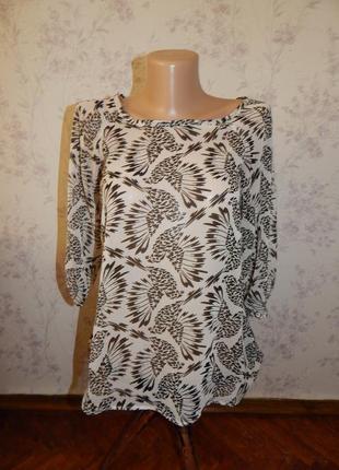 Internacionale блузка шифоновая полу-прозрачная стиьлная модна...