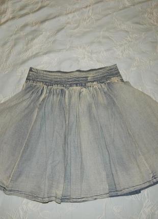 Falmer heritage юбка джинсовая стильная модная р8