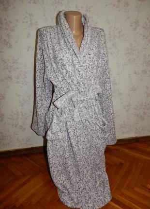 Next халат плюшевый мягкий тёплый рl