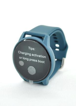 Смарт часы фитнес-браслет 4you benefit темно-синие
