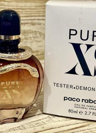 Paco rabanne pure xs for her 80ml тестер