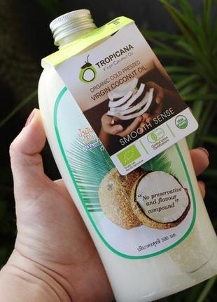 Extra Virgin Tropicana холодный отжим кокосовое масло 500мл Тай