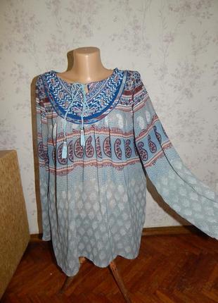 Matalan блузка полу-прозрачная стильная модная р16