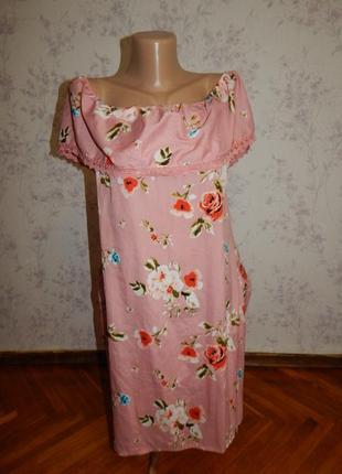 Primark платье стильное модное с рюшей р12