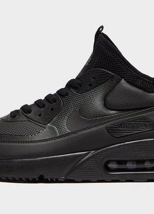 Nike Air Max 90 Ultra MID Winter Full Black 45