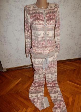 Next слип флисовый пижама человечек рs