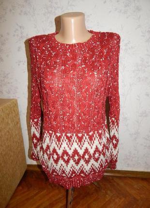 Simplecity элегантный женский свитер/туника актуальной расцвет...