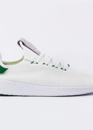 Кроссовки Adidas Pharrell x adidas Tennis Hu White Green