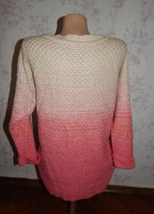 Limited свитер стильный модный женский р 12