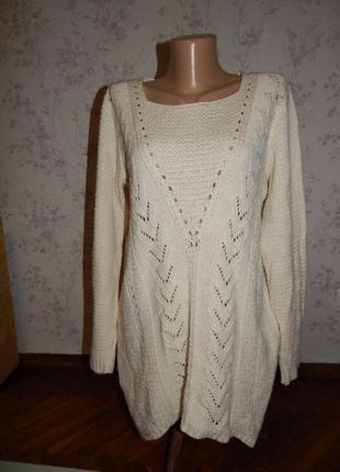 George свитер туника стильный модный женский р 14