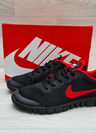 Мужские кроссовки Nike Free Run беговие,мягкий, Топ качество