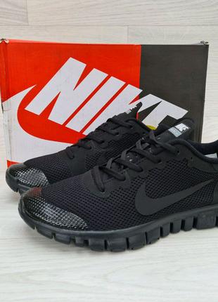 Мужские кроссовки Nike Free Run 3.0 New беговие, мягкий.