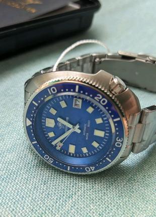 Часы наручные дайвинг AddisDive хомаж Seiko черепаха