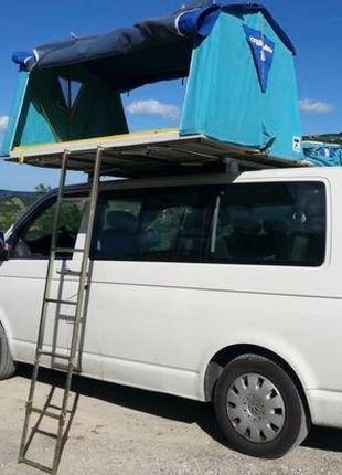 Палатка на крышу автомобиля Autohome Overcamp