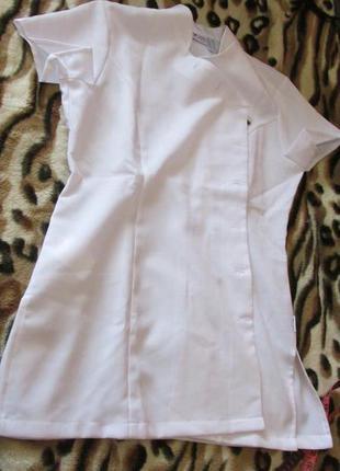 Халат короткий медицинский clinic dress
