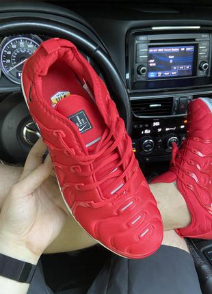 Кроссовки Nike VaporMax TN Plus Red White
