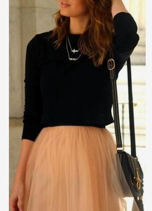 Платье#фатиновая юбка
