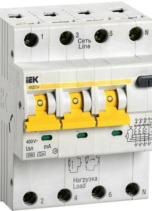 Автоматический выключатель дифференциального тока АВДТ34 C32 30мА