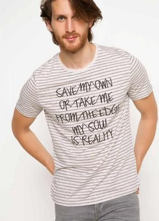 Мужская футболка defacto одежда турция 254
