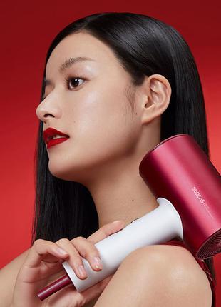 Фен для волос Xiaomi Soocas H5 red Negative Ion Hair Dryer H3S