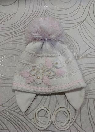 Зимняя тёплая шапка agbo(польша)