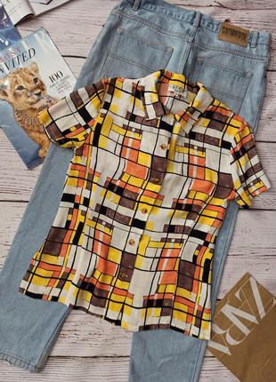 Винтажная блуза cartoon
