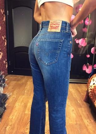Легендарные джинсы  с завышенной талией бойфренды мексика