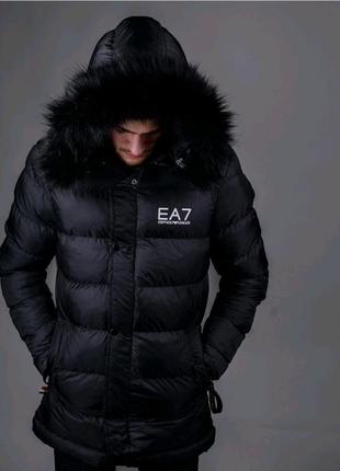 Мужская зимняя куртка EA7