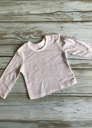 Не ношена хлопковая кофточка для новорожденных