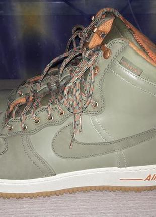 Nike air - шкіряні кросівки-черевики