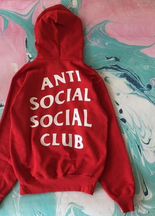 Assc худи • бирки • живые фотки толстовки • anti social social...