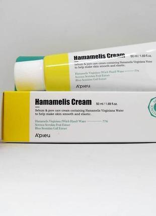 Крем a´pieu hamamelis cream для жирной, комбинир. и проблемной...