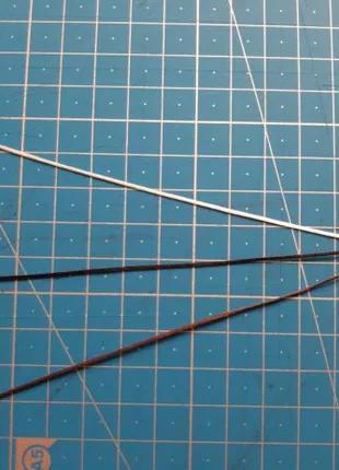 Нить вощенная 0.8 мм (4 цвета ) 1.5 грн метр.
