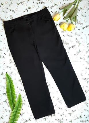 🎁1+1=3 черные высокие прямые джинсы с высокой посадкой m&co, р...