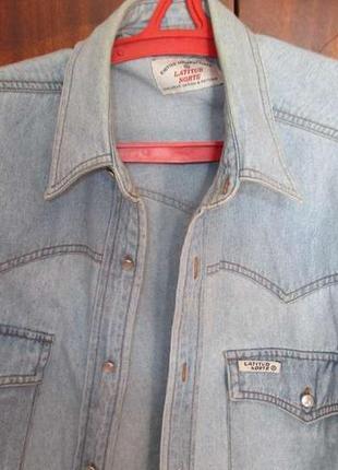 Рубашка джинсовая latitud norte