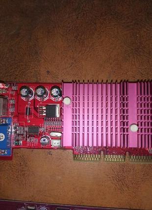 РАСПРОДАЖА! Видеокарта AGP GeForce mx440 64Mb