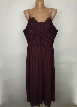 Платье новое шикарное шифоновое большой размер marks&sepncer u...