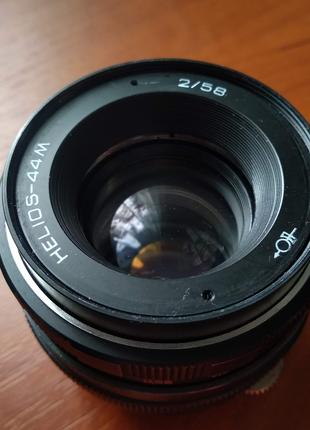 Helios 44M - Гелиос 44М (байонет под Nikon)