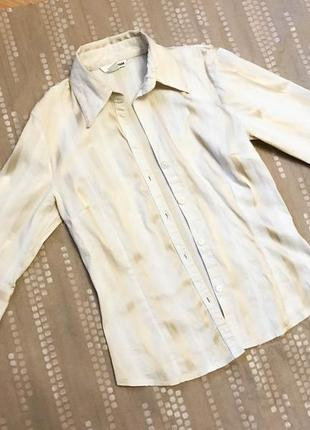 Классная рубашка с рукавом три четверти