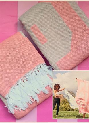 Покрывало victoria's secret pink, покрывало одеяло плед виктор...