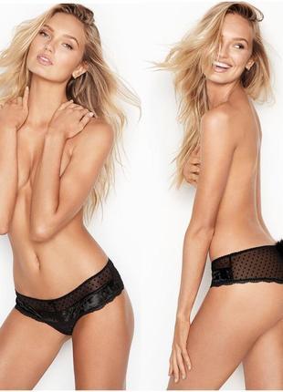 Victoria's secret very sexy, сексуальные трусики с хвостиком в...